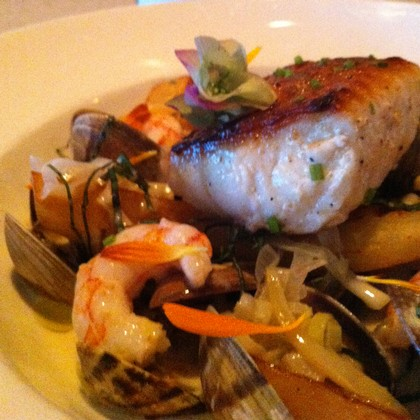 Vancouver Island's Avenue Bistro in the Comox Valley  - Pacific Bourride by Chef Aaron Rail